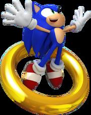 Sonic Jump Main Pose