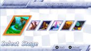 Sonic Rivals menu 3