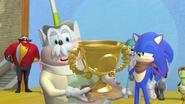 Sonic is the winner