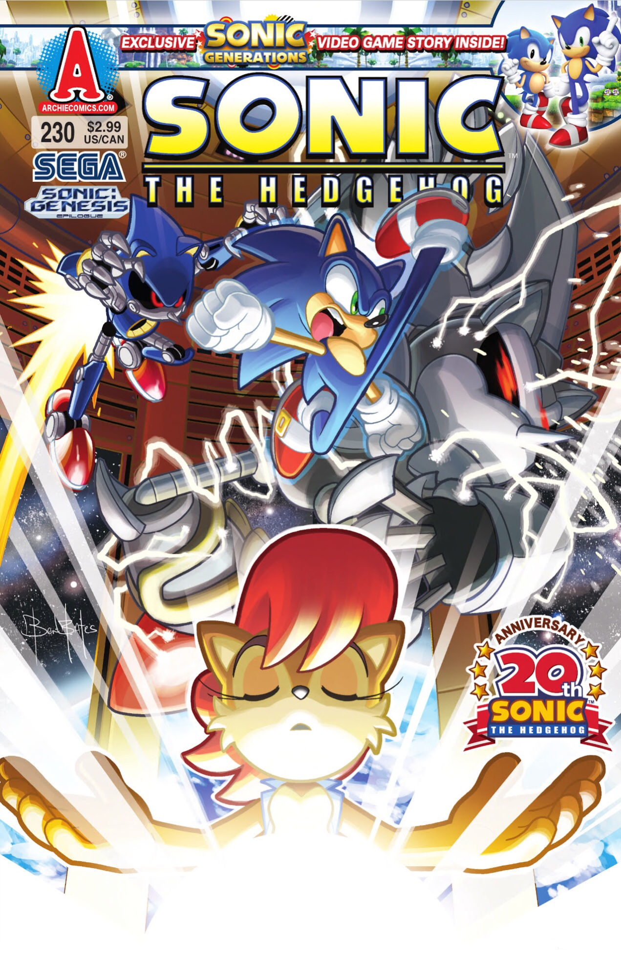 Archie Sonic The Hedgehog Issue 230 Sonic News Network Fandom