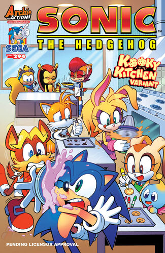 Archie Sonic The Hedgehog Issue 294 Sonic News Network