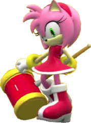 Amy Sonic Generations Statue