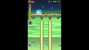 DesMuMe - Sonic Rush Adventure Sky Babylon, Sonic - Act 1