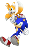 Modern Sonic and Tails