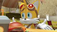 SB Tails talk to his Friends