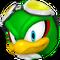 Sonic Free Riders - Jet Icon