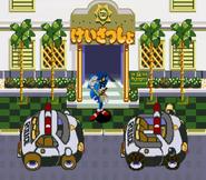 Waku Waku Sonic Patrol Car 02