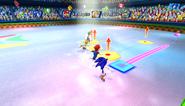 Mario Sonic Olympic Winter Games Gameplay 353