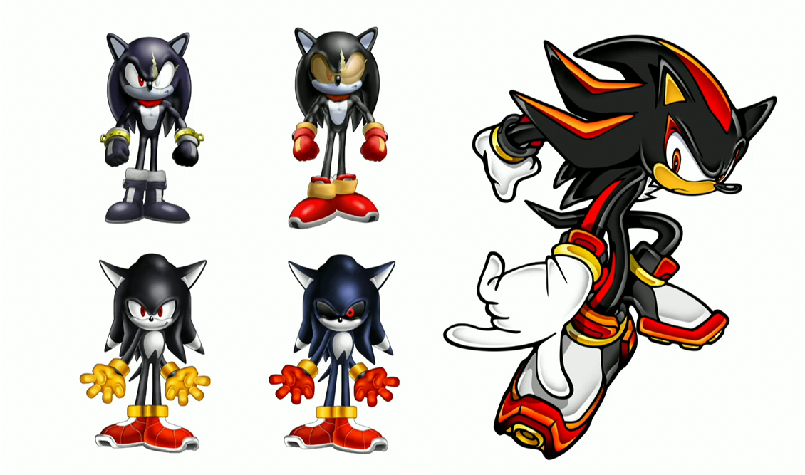 image shadow the hedgehog character sketches png sonic news