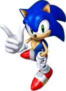 Sonic Channel 3D Sonic 2005