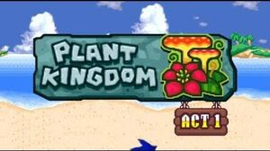 Sonic Rush Adventure Plant Kingdom, Sonic - Act 1