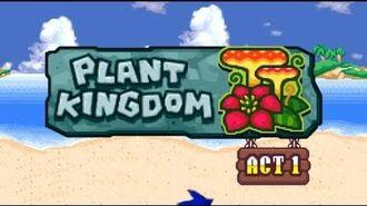 Sonic Rush Adventure Plant Kingdom, Sonic - Act 1