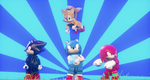 Sonic and friends lego