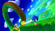 Sonic's Magnetic Running
