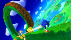 Sonic's Magnetic Running