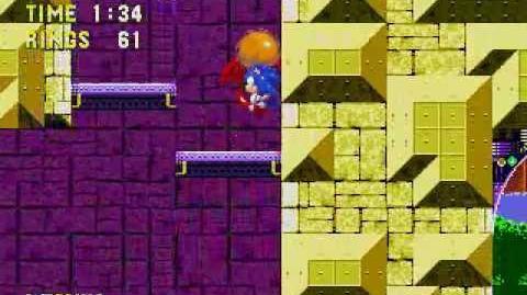 Sonic 3 & Knuckles - Przykładowe przejście Launch Base Zone