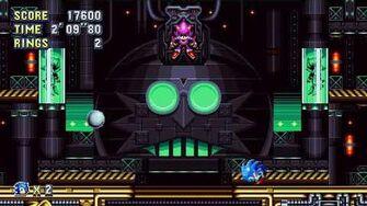 Sonic Mania Boss 12 - Metal Sonic