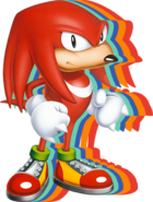 Sonic Mania Knuckles art 2