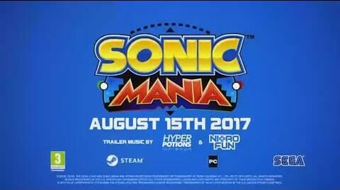 Sonic Mania Steam trailer with relase date