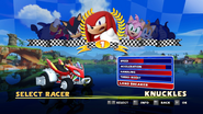 Sonic and Sega All Stars Racing character select 18