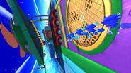 Sonic en frozen factory