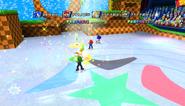Mario Sonic Olympic Winter Games Gameplay 367
