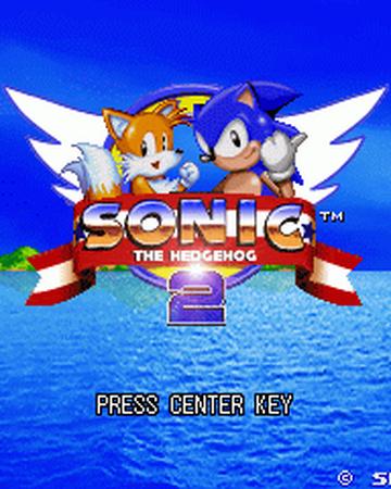 sonic the hedgehog 2 logo png