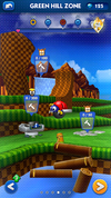 Sonic Dash Green Hill Zone ruined