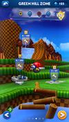 Sonic Dash Green Hill Zone ruined