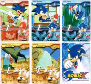 Sonic X tcg Common 001-005