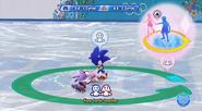 Sonic and Blaze Figure Skating Spiral