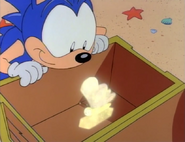 Sonic with invisible emerald