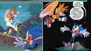 Tails i Sonic IDW 11