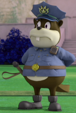 BeaverPolicemanAU