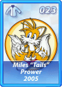 Card 023 (Sonic Rivals)