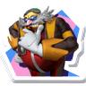 Dr. Eggman Nega sticker (Mario & Sonic 2012)