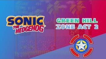 Green Hill Zone Act 2 - Sonic the Hedgehog 1