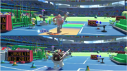 Mario & Sonic at the Rio 2016 Olympic Games - Javelin Throw Eggman VS Dry Bowser