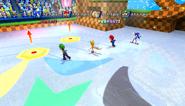 Mario Sonic Olympic Winter Games Gameplay 352