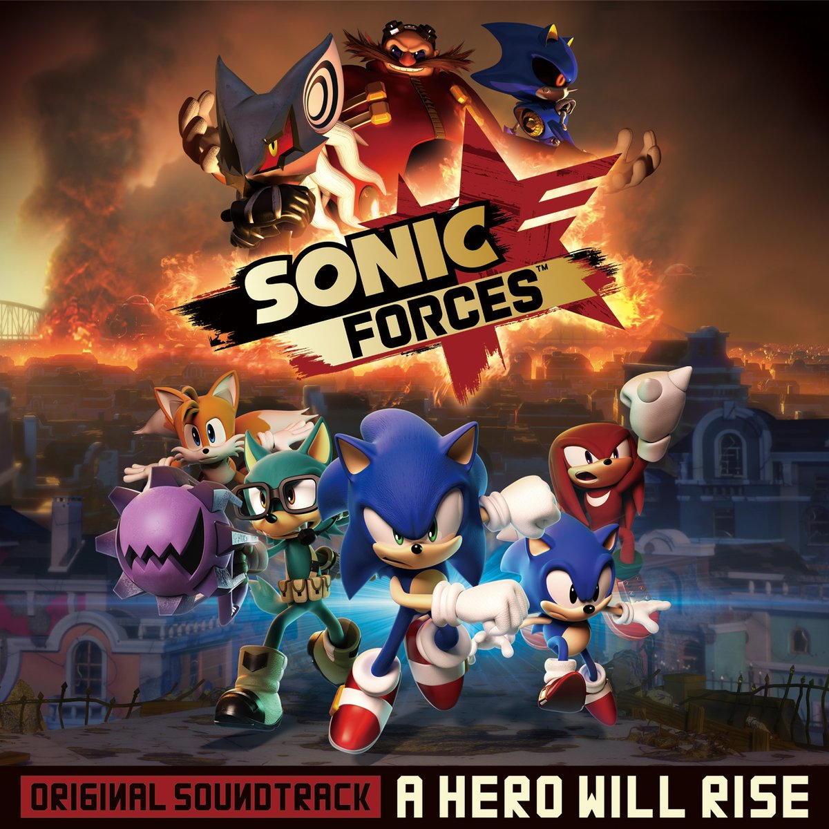 Sonic Forces Original Soundtrack A Hero Will Rise Sonic News Network Fandom