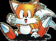Sonic 2 JP Tails sit