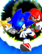 Sonic Heroes Team Sonic 3D