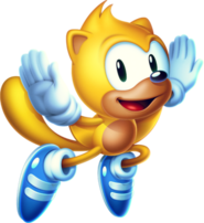 Sonic Mania - Ray