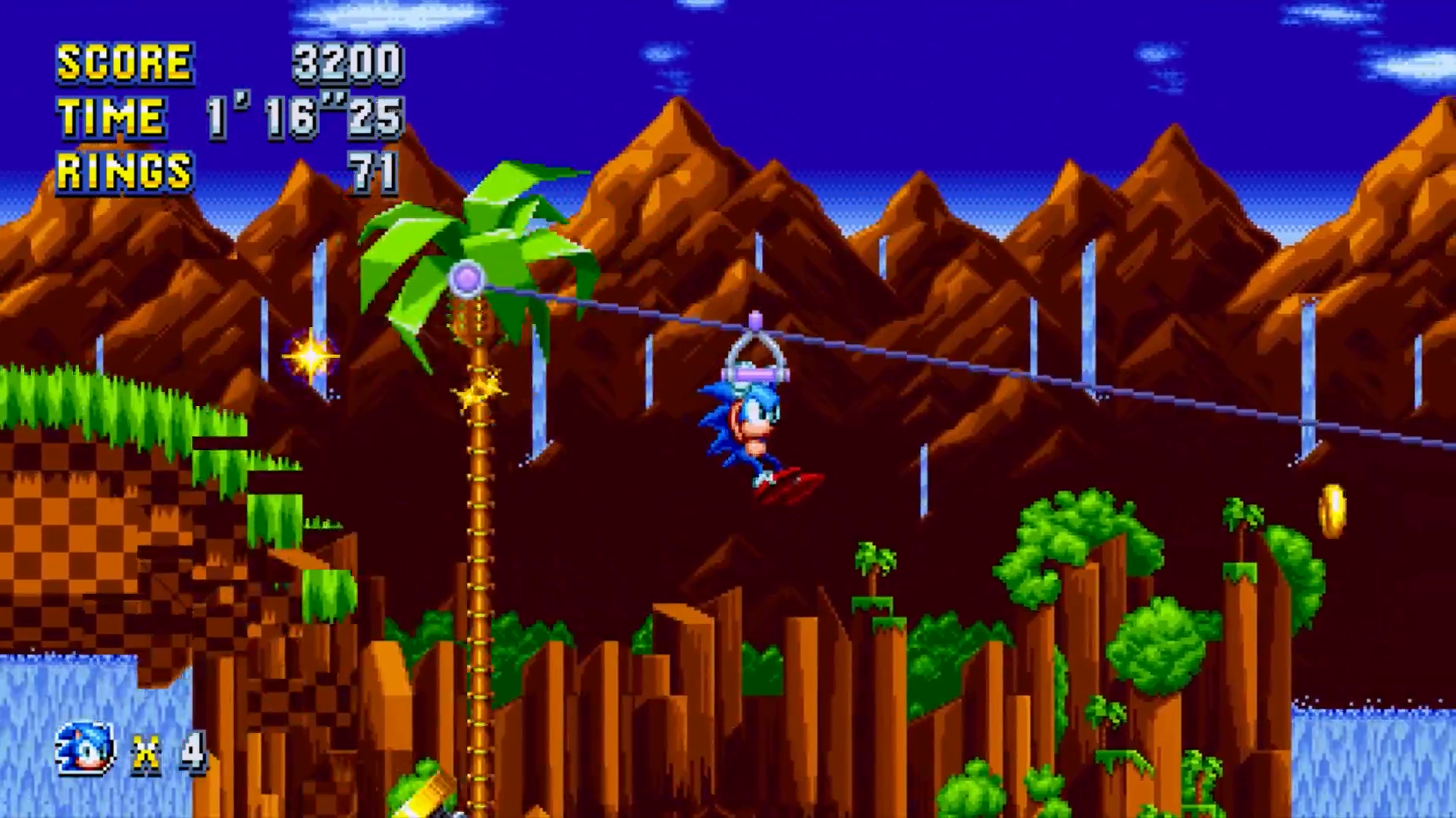 Green Hill Zone Sonic Mania Sonic News Network Fandom