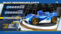 Legendary Sonic Spinners Wheels