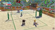 Mario&Sonic Rio 2016 - Beach Volleyball Team Luigh VS Team Shadow