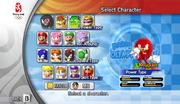 Mario Sonic Olympics Character Select 01