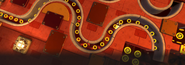 Ring Race 5 - Lava Mountain - Zone 3 - Screen 2
