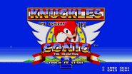 S22013 Title screen Knuckles
