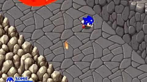 SegaSonic the Hedgehog - Volcanic Vault